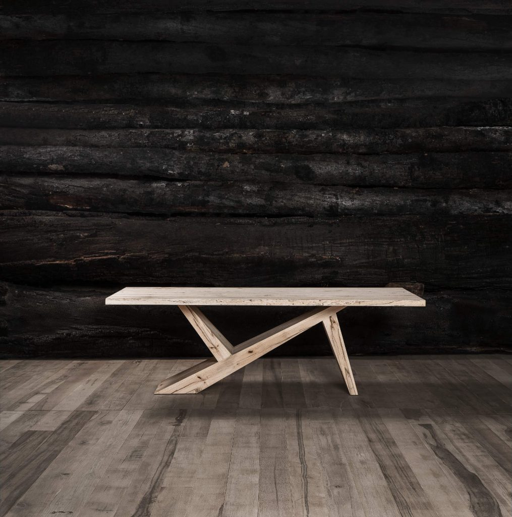 Troncos-mesa