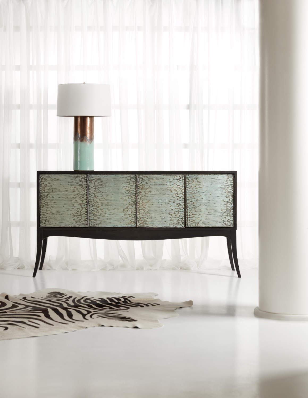 Hooker Furniture Melange Collection Elodie Four-Door Credenza